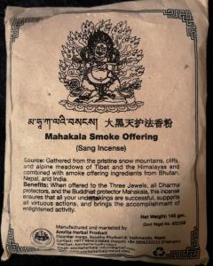 Mahakala Smoke Offering